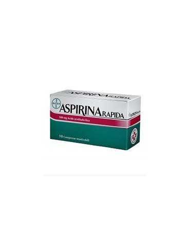 Aspirina Rapida 10 compresse masticabili 500mg 004763379