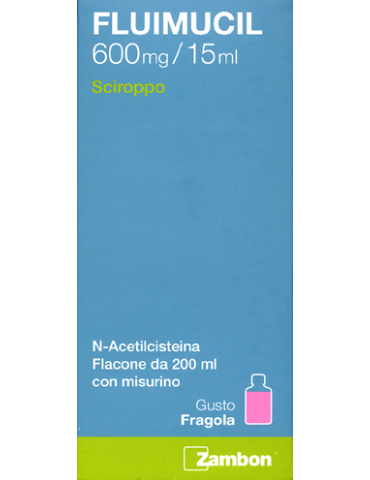 Fluimucil mucolitico 600mg/15ml sciroppo 200 ml 034936157