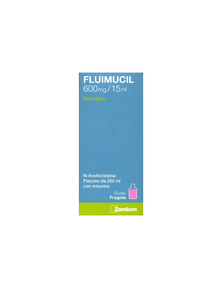Fluimucil mucolitico 600mg/15ml sciroppo 200 ml 034936157