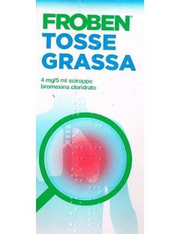 Froben tosse grassa sciroppo 250ml MYLAN SpA 039733011 Sedativi e Fluidificanti della tosse