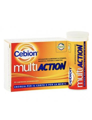 Cebion MultiAction energia per il corpo e per la mente 20cpr effervescenti 933567063