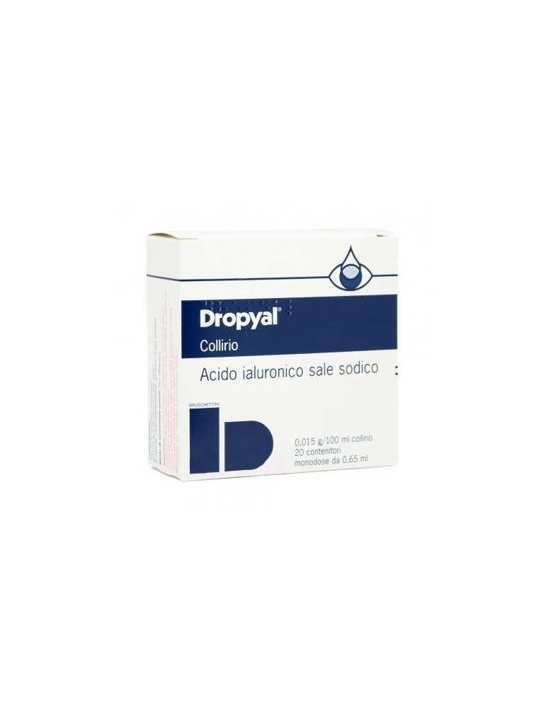 Dropyal Collirio 20 Monodosi 0,65ml idratante e lubrificante cornea 028881011