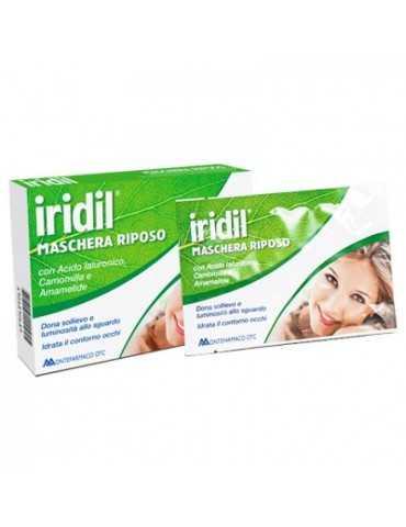 Iridil maschera riposo occhi 4 maschere monouso 901890689