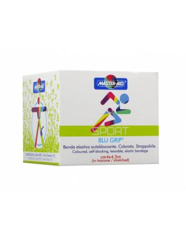 Sport Blugrip benda elastica autobloccante cm 4 x 4,5 m 904691399