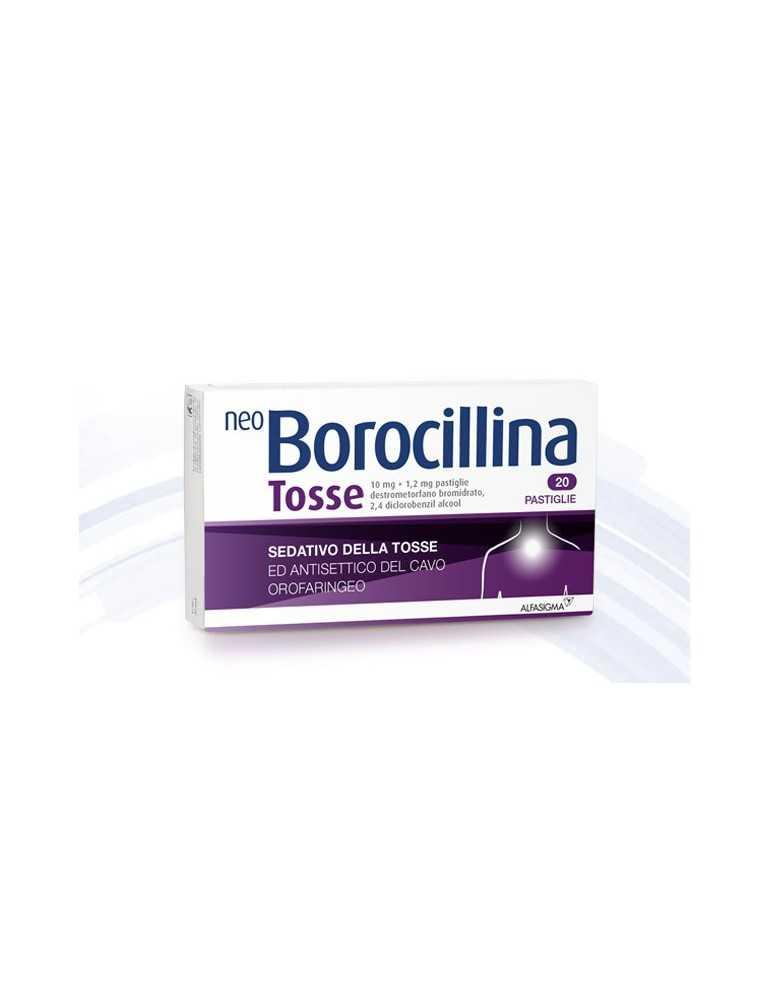 Neoborocillina Tosse 20 Compresse Orosolubili 027081049
