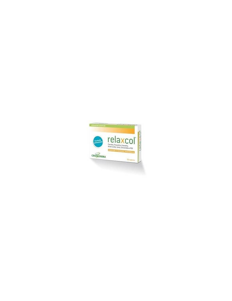 Relaxcol gonfiore e tensione addominale 36 capsule 903204941