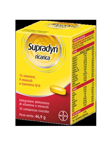 Supradyn Ricarica vitamine e sali minerali 35 compresse rivestite 935662609