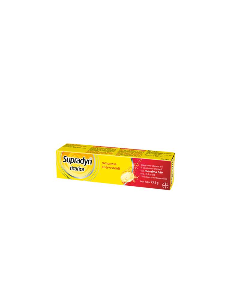 Supradyn Ricarica vitamine e sali minerali 15 compresse effervescenti 935662585