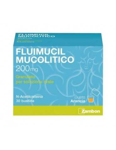 Fluimucil Mucolitico 2oomg 30 bustine