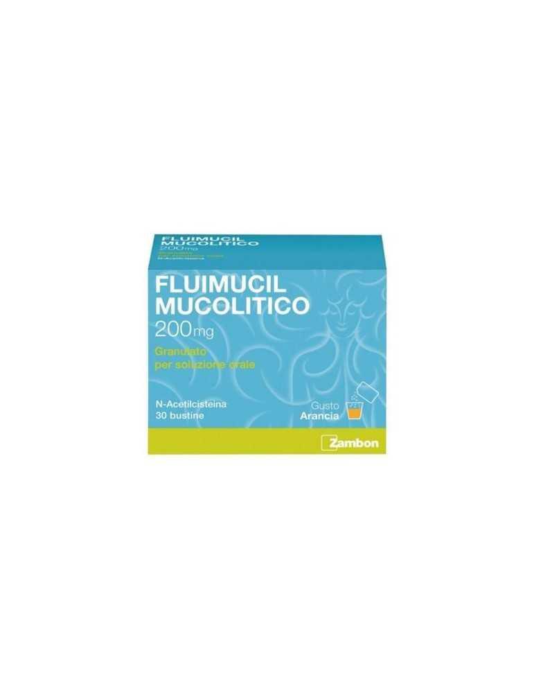 Fluimucil Mucolitico 2oomg 30 bustine ZAMBON ITALIA Srl034936031 ZAMBON ITALIA Srl