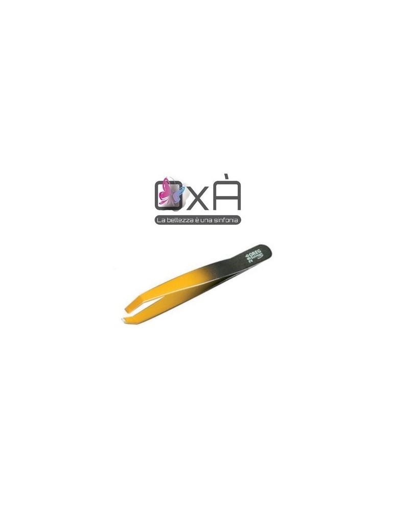 Oxà Pinzetta morso granchio, bicolore giallo e nero mod.286