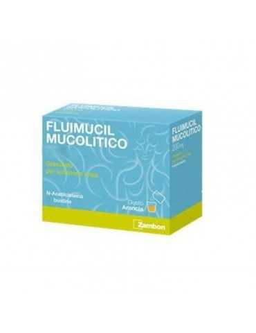 Fluimucil Mucolitico 600mg 10 bustine 034936169