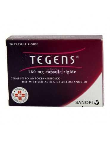 Tegens fragilità capillare 20 capsule 160mg VEMEDIA MANUFACTURING B.V. 023539063
