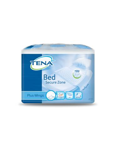 Tena Bed Secure Zone Plus Wings 80X180cm 20Pezzi 970384362