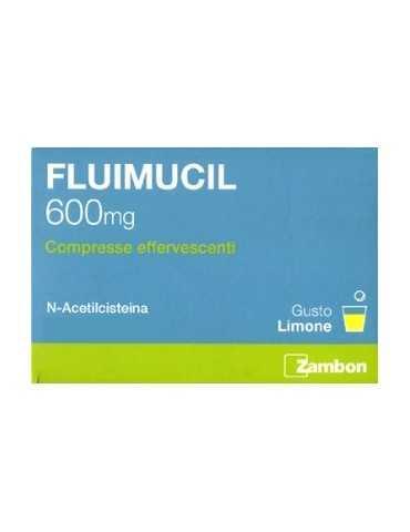 Fluimucil 600mg 10 compresse effervescenti ZAMBON ITALIA Srl034936171 ZAMBON ITALIA Srl