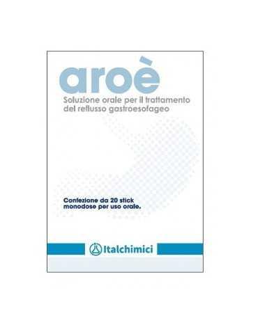 Aroè soluzione orale per il reflusso gastroesofageo 20 stick monodose ITALCHIMICI SpA935696916 ITALCHIMICI SpA