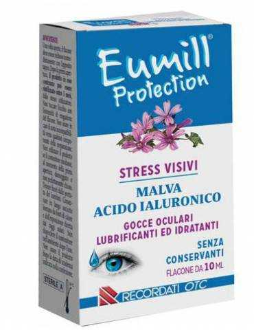Eumill Gocce oculari protection flacone da 10ml RECORDATI SpA 935034330 Colliri