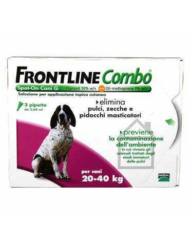 Frontline Combo Spot-on Cani Taglia Grande - 3 Pipette 2,68 ml 103655080