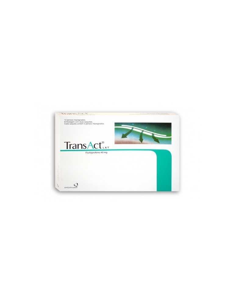 Transact Lat 10 Cerotti Medicati 40mg 028741015