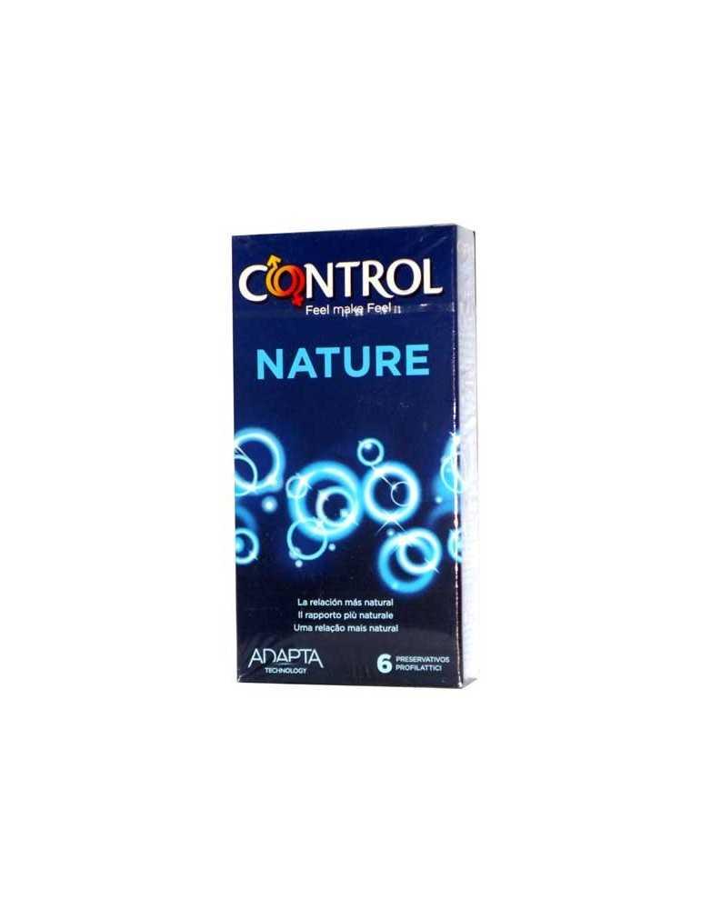 Profilattici control nature 6 pezzi 922912112