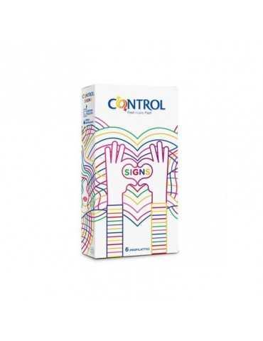 Preservativi Control Signs 6 pezzi 927286892