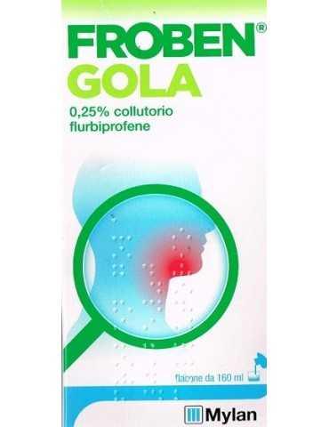 Froben Gola colluttorio 160ml 0,25%