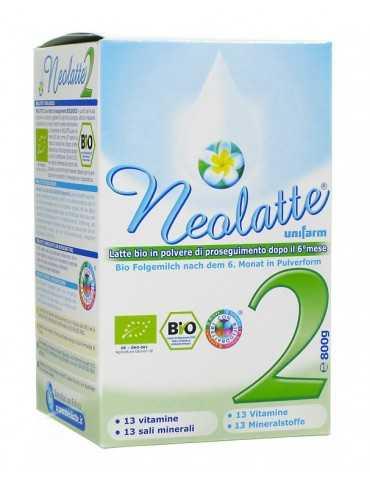 Neolatte 2 Latte bio in polvere dopo il 6°mese 700 g 926047731