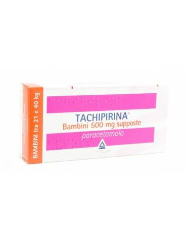 Tachipirina Bambini 500mg 10 supposte 012745055