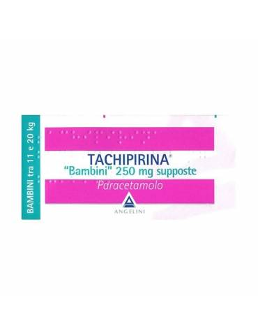 Tachipirina Bambini 250mg 10 supposte Angelini
