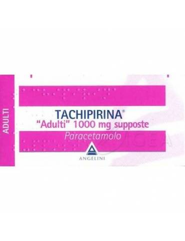 Tachipirina Adulti 10 Supposte 1000mg 012745067