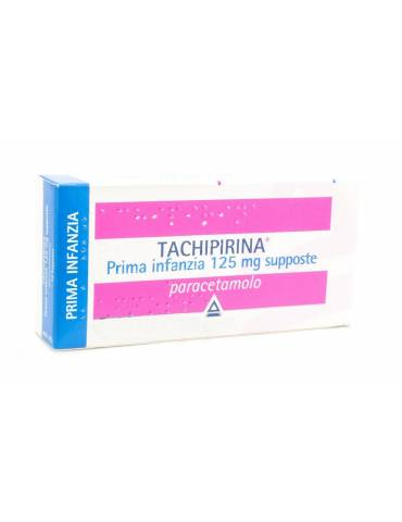 Tachipirina Prima Infanzia 125mg 10 supposte ANGELINI SpA012745079 ANGELINI SpA