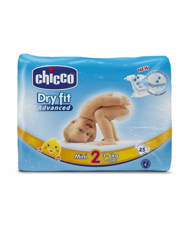 Chicco Pannolini Dry fit advanced mini 25pz 927832939