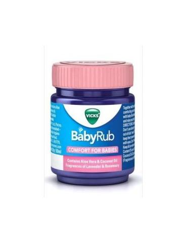 Vicks babyrub 50g massaggio lenitivo e rilassante per bebè 974899080