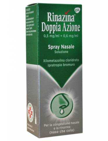 Rinazina Doppia Azione Soluzione Spray Nasale 10ml,5mg+6mg Gsk039064011 Gsk